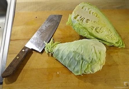Bulgur-Hack Klößchen, Spitzkohl Salat, Tzatziki, Apfel Crumble (21)