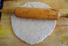 Champignon Quiche, Tomatensalat (13)