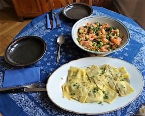 Gemüse, Lachs, Ravioli (23)