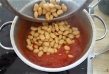 Köfte,Tomaten-Bohnensalat (13)
