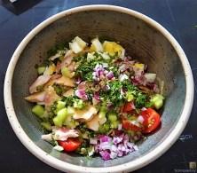 Salat von der geräucherten Forelle (12)