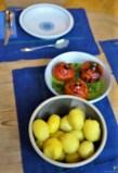 Spinat mit Kürbis und Ei (30)
