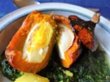 Spinat mit Kürbis und Ei (39)
