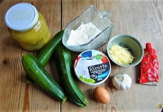 Zucchini in Zitronensauce mit Ricottanocken (10)