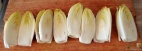 Entenbrust, Orangensauce, Klöße und Chicoree (13)