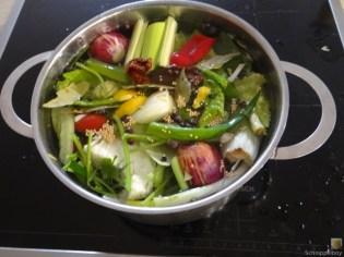 Gemüsesuppe leicht orientalisch gewürzt (14)