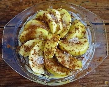 Pürierter Hokkaido und Kartoffelstampf mit Champignon und Apfel-Crumble (20)