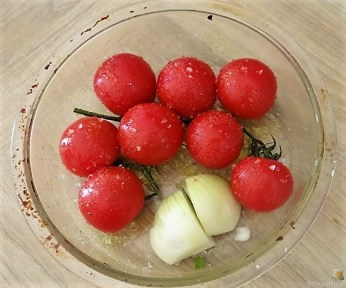 Hackfleischspieße (Schisch Kufta) und Couscous (15)