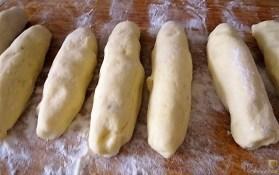 Kartoffel-Quark Nudeln ,Rotkohlsalat und Apfelkompott (15)