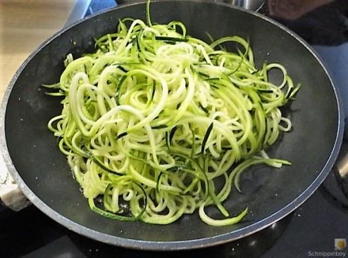 Ratatouille mit Zucchini Zoodles und Spaghetti (10)