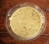 Rosenkohlauflauf, Rosenkohlsalat, Nachtisch (15)