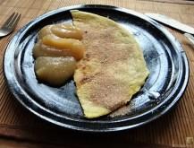 Rosenkohlauflauf, Rosenkohlsalat, Nachtisch (32)