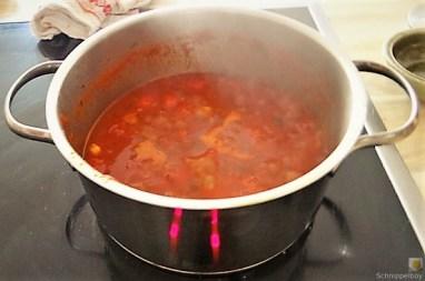 Gnocchis mit Tomatensauce und Muscheln (18)
