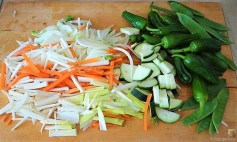 Gemüse in Kokosmilch mit Glasnudeln (10)