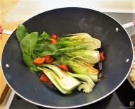 Pak Choi, Champignons und Kartoffelspalten (13)