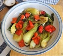 Pak Choi, Champignons und Kartoffelspalten (27)