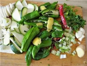 Gemüsesuppe mit Meeresfrüchten und Queller (13)