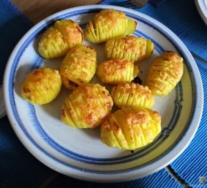 Ofengemüse und Fächerkartoffeln (18)