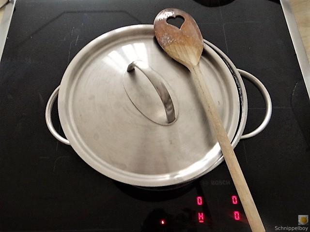 Reisbrei in Kokosmilch mit Apfelkompott-Mus (8)