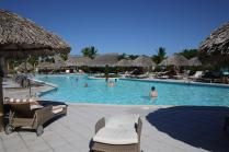 This was our favourite pool. Large, swim-up bar, and whirlpool attached. It was too big to capture in one shot.