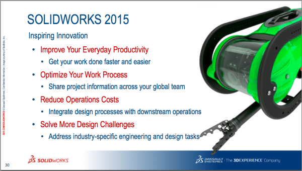 It's good to be SolidWorks