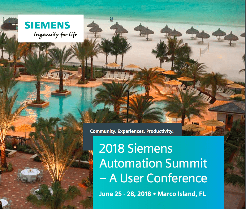 5 quick take-aways from Siemens Automation Summit