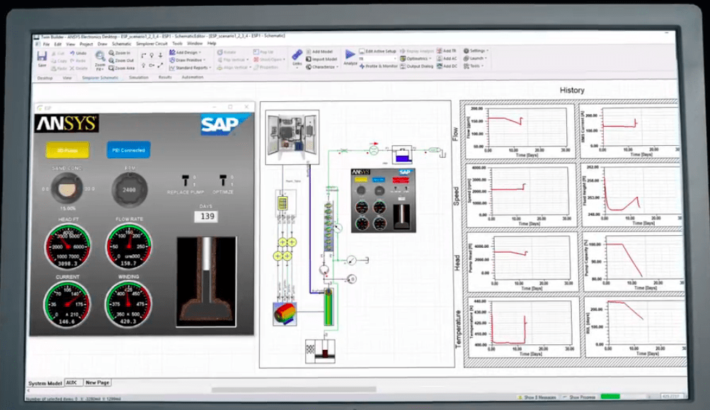 ANSYS & SAP create insights across engineering & operations