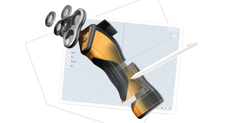 Shapr3D: Cool CAD on an iPad (and now, macOS too)