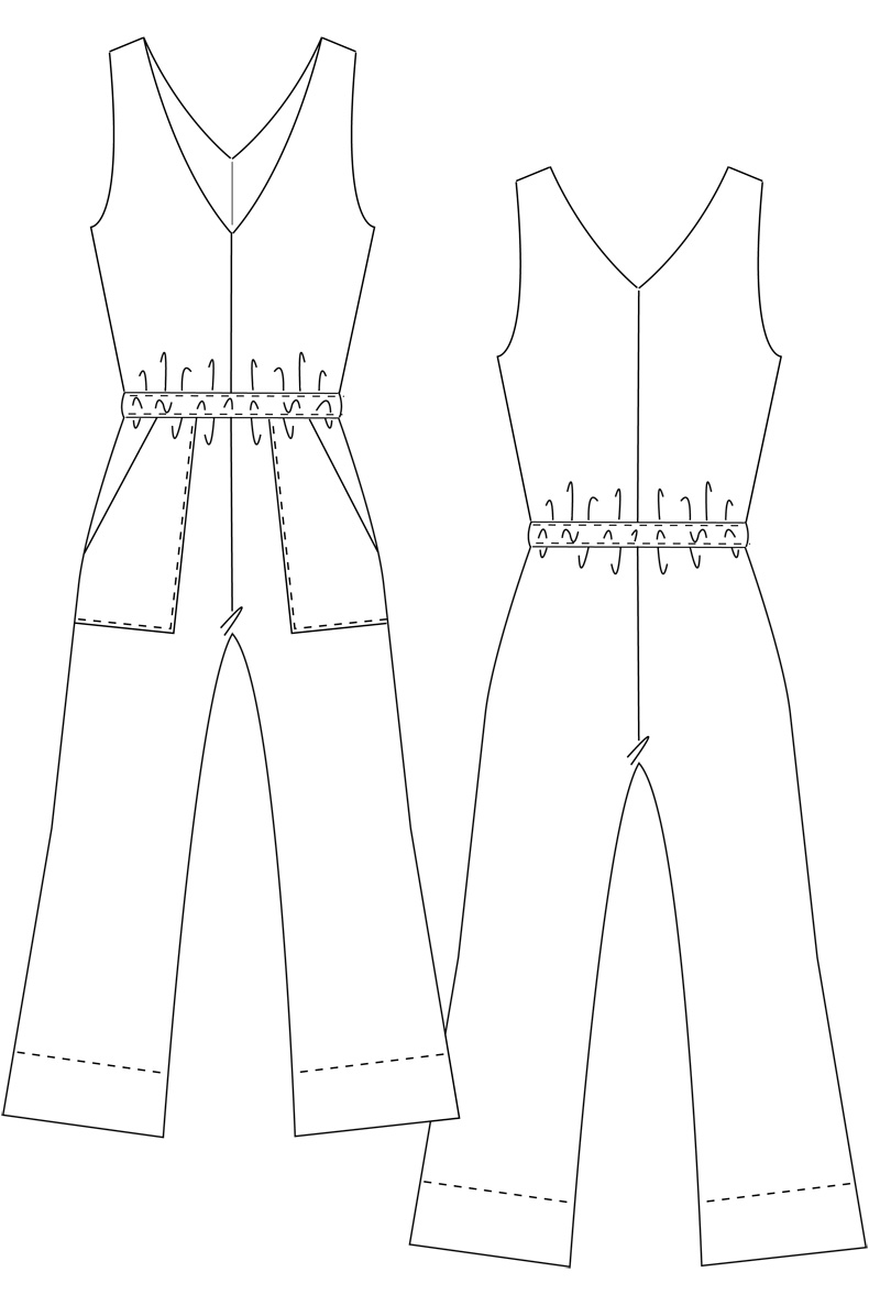 Kids Jumpsuit Pattern Free