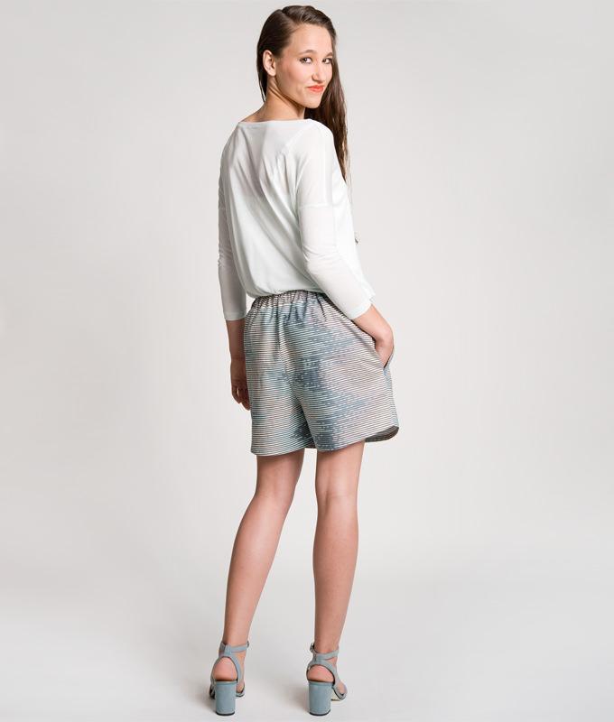 Die Shorts Jessica ist eine lässige, einfache kurze Hose.