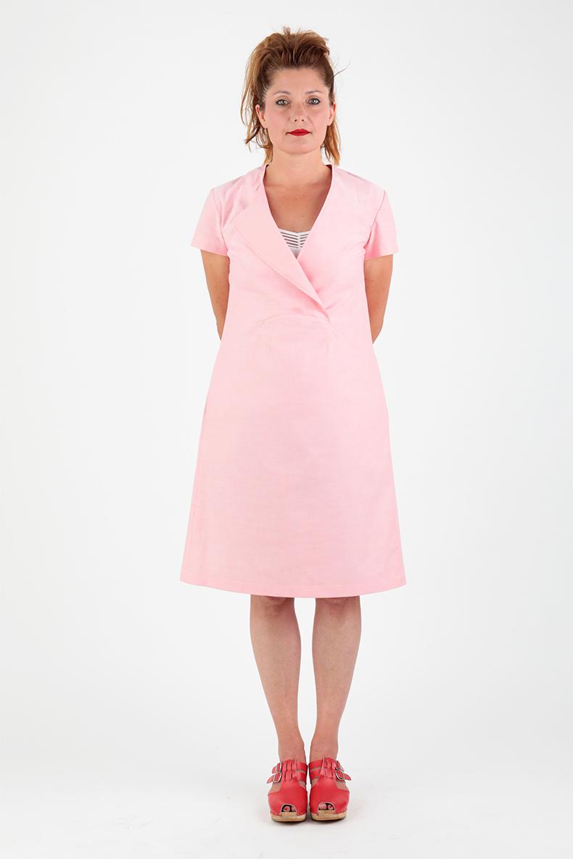 Schnittmuster Kleid Joy - mit Ärmeln von vorne