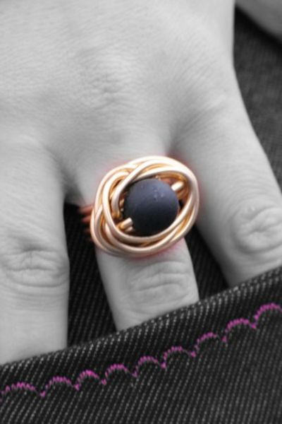 Ring gold 2