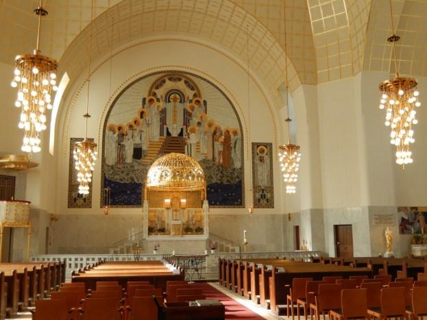 Otto Wagner, Kirche am Steinhof - innenraum, Foto: schnuppe von gwinner