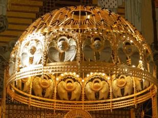 Otto Wagner, Kirche am Steinhof - Kuppel über dem Altar, Foto: schnuppe von gwinner