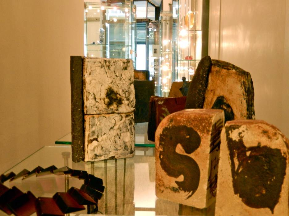 Blick durch die Galerie Slavik