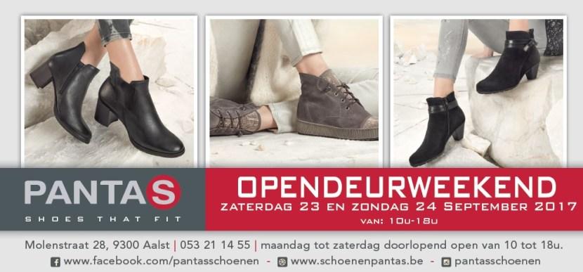 Schoenen Pantas opendeurweekend