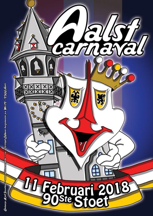 Schoenen Pantas Carnaval Aalst 2018