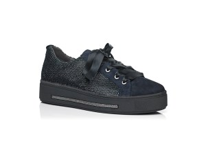 Schoenen Pantas Softwaves veterschoen zwart (2)