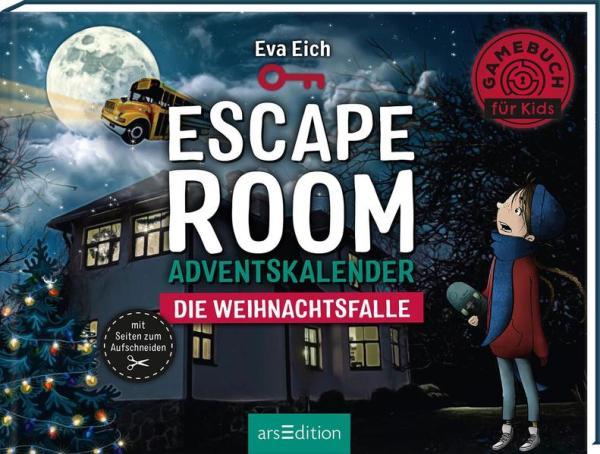Escape Room. Die Weihnachtsfalle. Ein Gamebuch-Adventskalender für Kinder   Schöner morden mit dem Bundeslurch