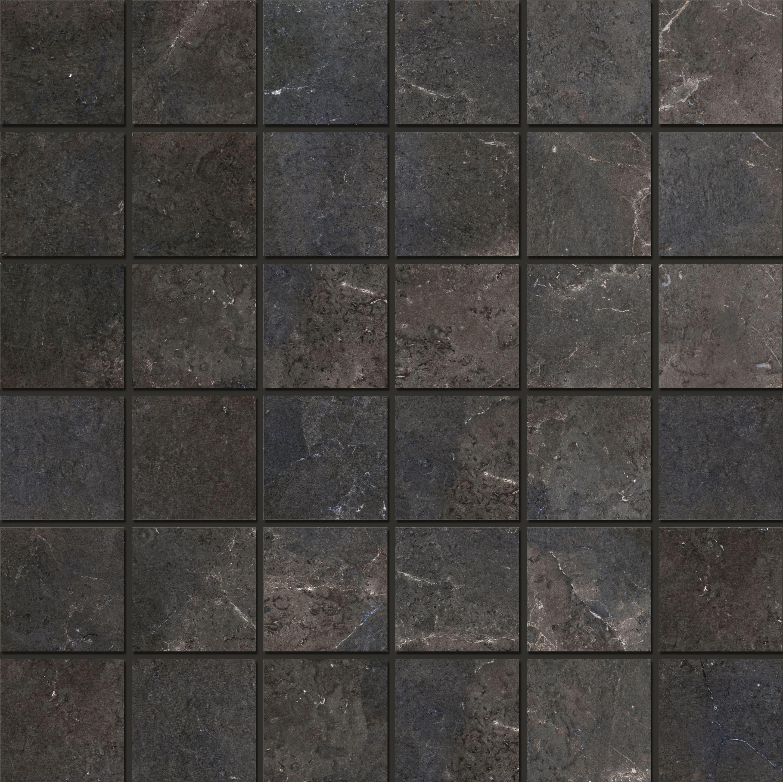 royal stone mosaic 4 7x4 7 black diamond black diamond 30x30 8 mm 4 7x4 7 natural x370380x8 von schoner wohnen fliesen