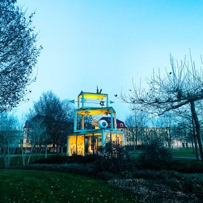 Kunstpavillon im Hofwiesenpark Gera