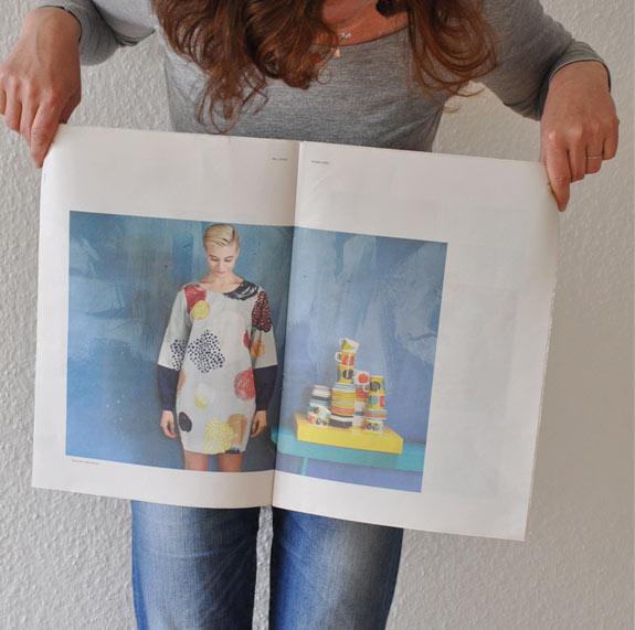 Kleid von Kukkamari für grosse Mädels
