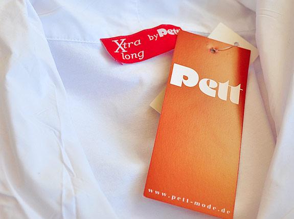 Das Paket ist da mit dem neuen Blusenshirt in Xtra lang. Hurra!
