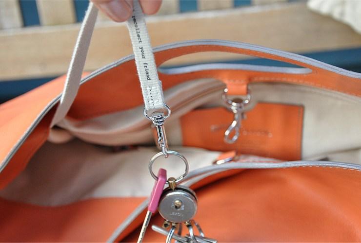 Große Tasche von Bree mit Schlüsselhalter