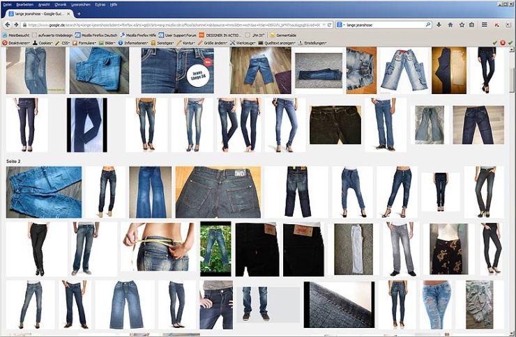 Jeanshosen nach Maß in allen Formen und Farben. Ist das möglich?