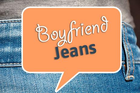 Boyfriend-Jeans Länge 34, 36