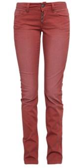"""Catie Slim: schmale Hose in Farbe """"Henna"""" bis Länge 36"""