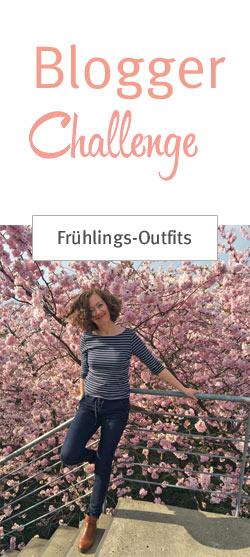 Frühlings-Outfits für große Frauen. Die Blogger Challenge im April 2016