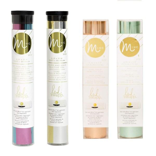 Minc Folie in diversen Farben