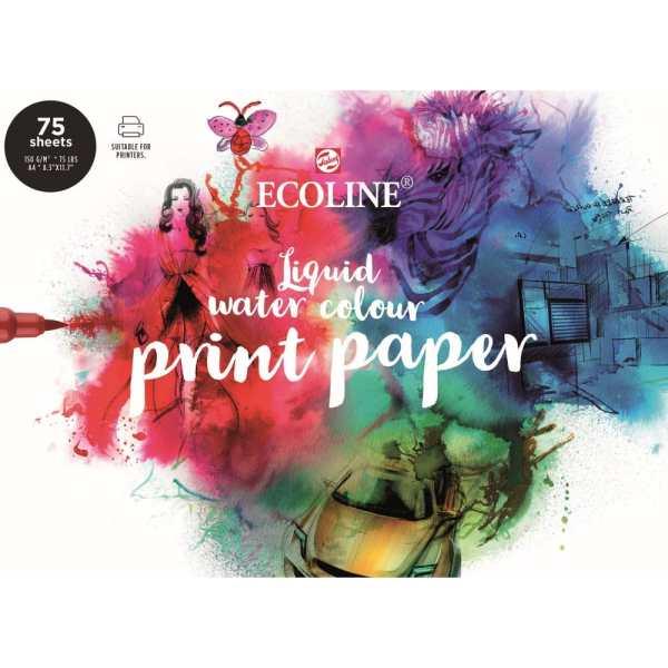 Ecoline Aquarell Drucker Papier
